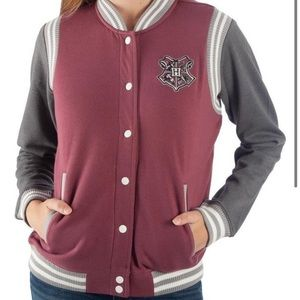 Harry Potter Hogwarts knit varsity jacket XXL